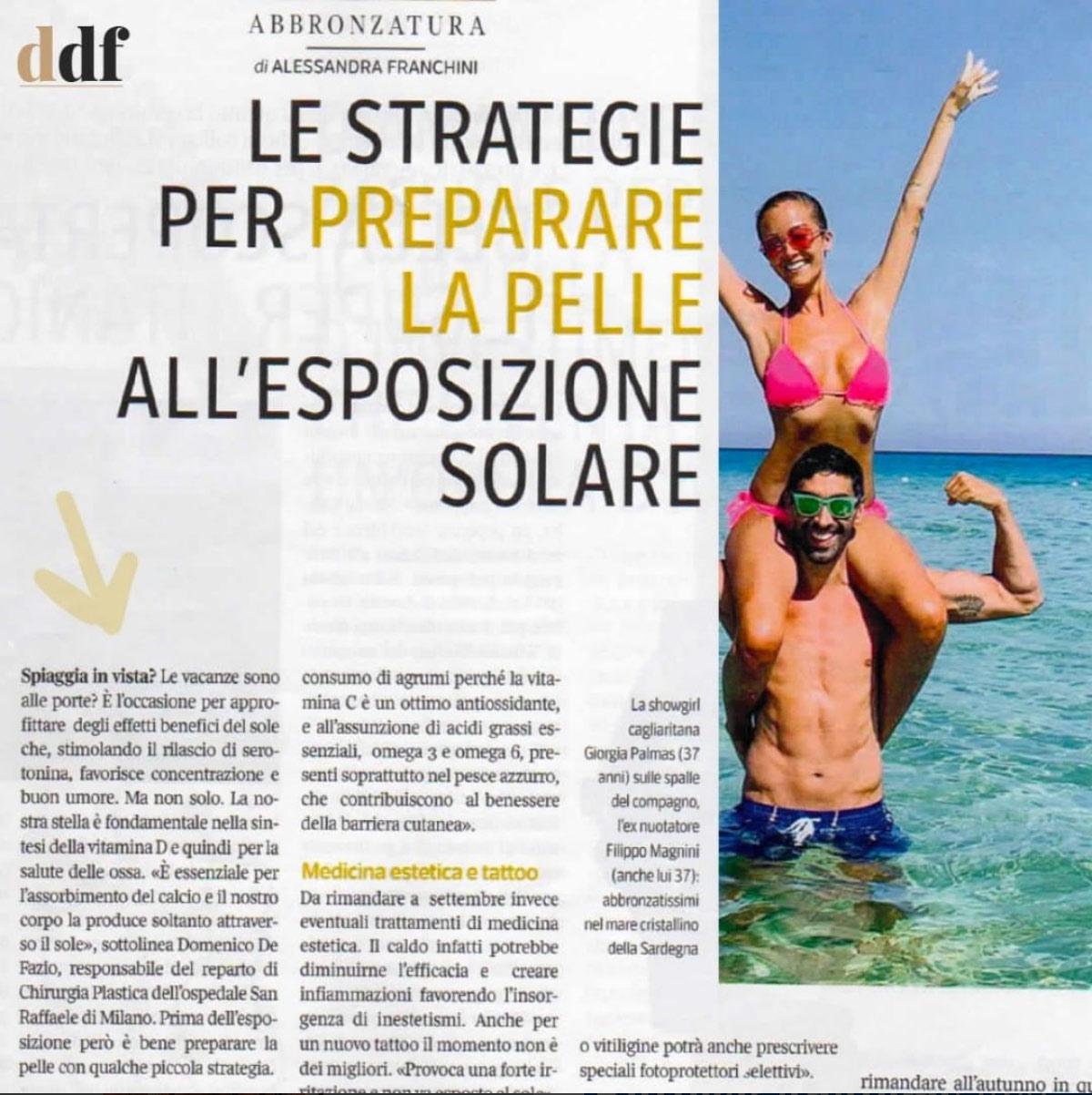 Corriere Sette / Abbronzatura